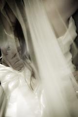 Never let me go (Lady Dreadlock) Tags: wedding veil bridal