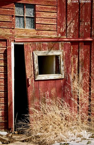 Photo - Door, historic barn on Open Space