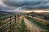 A Bust of Light from Lose Hill (awhyu) Tags: park photography cross district derbyshire hill peak andrew national win yu tor lose mam hollins