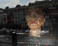 Being watched (jayteacat) Tags: window vampire dracula whitby northyorkshire draculaexperience