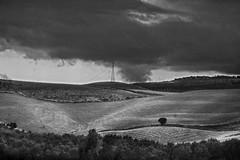 sud -  sei (Maurizio Targhetta) Tags: blackandwhite bw italy clouds landscape countryside mediterranean sud