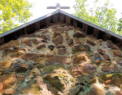 Rock Chapel  1891 (Backyardbella) Tags: architecture french chapel historic monastery missionary german monks cultural romancatholic carmelites rockchapel gothicstructure bayoupierre desotoparish carmellouisiana bayouloup