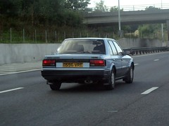 1987 Nissan Bluebird 2.0 SGX (Stuart Axe) Tags: nissan bluebird nissanbluebird sgx car 1987 classiccar m25 essex uk england japanese motorway london orbital londonorbital road highway ringroad unitedkingdom gb greatbritain londonorbitalmotorway japan