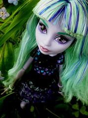 Pretty as a flower (Amaranthea) Tags: monster high doll wishes 13 twyla