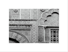 Pearl of the West LXVI (2 Marvelous 4 Words) Tags: bw facade spain cathedral patterns catedral arches mosque andalucia cordoba mezquita fachada westwall pearlofthewest