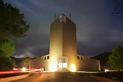 Polaris - Edificio 10 (Centro#11 [ Alessandro Cinus ]) Tags: canon long exposition cielo luci alessandro notturno polaris eos50d crs4 cinus centro11