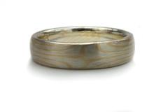 Mokume gane rings from mokume gane studio (mokumeganestudio) Tags: pink wedding silver gold engagement unique ring diamond rings platinum cufflink gane mokume