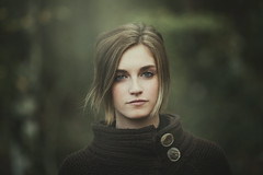 Agnese (Alessio Albi) Tags: portrait woman girl beauty face canon natural 135 ritratto 5d2