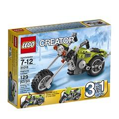 LEGO Creator 31018 - Highway Cruiser (THE BRICK TIME Team) Tags: brick lego creator 2014