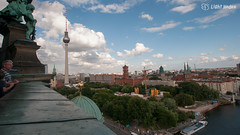 Berlin from Dom of the Berlin Cathedral