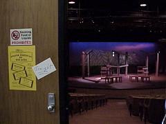 J set Fr lobby (Virginia Western Theater) Tags: virginiawesterncommunitycollege vwcc journe