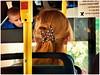 """Hi there, you have beautiful hair."" HBW! (Mike Goldberg) Tags: hair jerusalem driver passenger lovely bokehwednesday panasonicfz35"