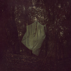 collapsable tent (Thomas Oscar Miles) Tags: portrait selfportrait art texture photoshop photography woods fineart ghost surreal squareformat british darkart selfie conceptualphotography vision:text=0523 vision:outdoor=0932