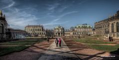 Dresden II (Michis Bilder) Tags: dresden zwinger hdr