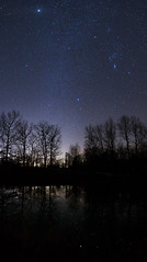 Les Reflets des toiles (davidmurr) Tags: reflections sirius orion jupiter milkyway starlight reflectedstarlight