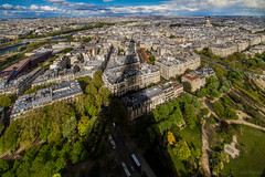Shadow Over The City, Paris, France (ShivRamky) Tags: world old city travel bridge light sunset shadow paris france color colour building green tower art history colors beauty architecture clouds canon french landscape photography evening boat architechture europa europe long flickr view bright pov steel memories eiffeltower wide culture sigma wideangle eiffel explore memory 7d handheld tall lovely tradition marvel shiva worldwonder 10to20 shivramky eiffelshadow