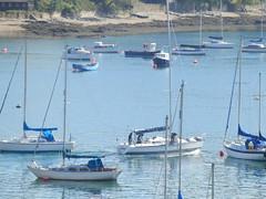 River Fal, Falmouth, Cornwall (photphobia) Tags: uk water docks river boats boat dock cornwall harbour falmouth dockyard flushing fal falmouthharbour riverfal falmouthdockyard