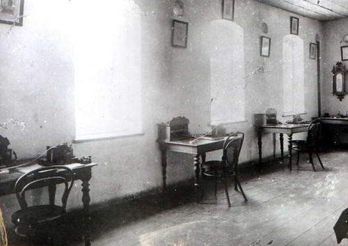 Tuner telegram office in the Chiang Mai post office, 1900