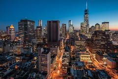 Downtown Manhattan (dansshots) Tags: nyc newyorkcity ny downtown manhattan d3 newyorkatnight nycatnight nikond3 dansshots