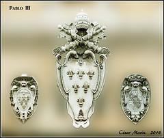 ITALIA  Roma.   C.M. (Cesalf) Tags: escudos heraldicapapal