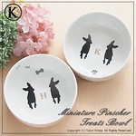 "Miniature Pinscher Food Bowls <a style=""margin-left:10px; font-size:0.8em;"" href=""http://www.flickr.com/photos/94066595@N05/13690891394/"" target=""_blank"">@flickr</a>"