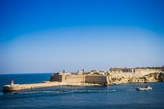 Forti Rikażoli (olipennell) Tags: wasser malta hafen valletta fortricasoli