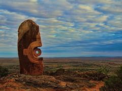 Living Desert Sculptures (bigbirdma) Tags: australia stonecarving stonesculpture newsouthwales brokenhill livingdesertsculptures outbacklandscape