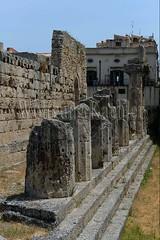 40078304 (wolfgangkaehler) Tags: italy greek temple italian europe european unescoworldheritagesite syracuse sicily archeologicalpark ortygia sicilian greekruins templeofapollo sicilyitaly
