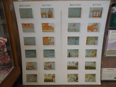 Before & After Restoration Images (jimmywayne) Tags: mural texas baytown postoffice historic goosecreek newdeal harriscounty