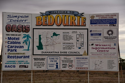 WELCOME TO BEDOURIE QLD