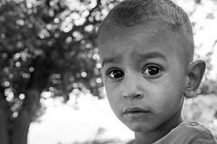 What are you thinking, my little cousin ? (Mehdi LABIDI) Tags: famille maroc portrait portraitfamille noiretblanc family morocco blackandwhite bw child eyes look regard enfant yeux emotion face visage closeup serré incompréhension profond profondeur deep deepness nb nikon d90 1750mm people personnes gens