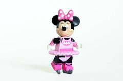 Ice Skating Minnie (or Batminnie) (Oky - Space Ranger) Tags: lego disney minifigures minnie mouse ice skating fairy batman batminnie