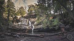 Cedar Falls Panorama (Kyle Krajnyak Photography) Tags: 2016 appalachia appalachian kylekrajnyak kylekrajnyakphotography nature ohio ash cantwell cave cedarfalls cliffs county hike hiking hocking hockinghills hockingstateforest kkp kylekr logan oldmans outdoors stateforest