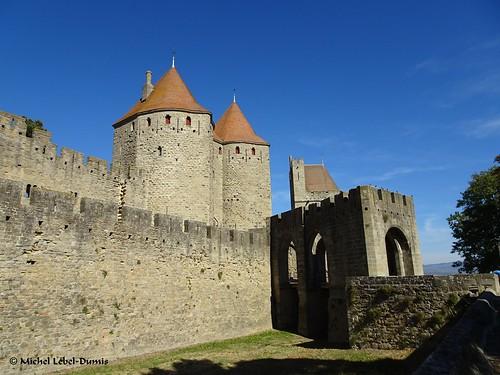 3. Cité Médiévale de Carcassonne - La porte Narbonnaise