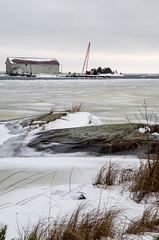 Frozen landscape (Susanne Hjertø Wiik) Tags: köpmannebro långö naturlandskapnaturfenomen steder vær dramatiskhimmel landskap lugnet mellerud skyer sverige vinter vänern årstid