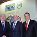 Joe Dolan, IHF President, Gerald Lawless, Dubai Holdings and Bryan Dobson, Conference Chairman