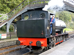 Hunslett 0-6-0ST Repulse P1250859mods (Andrew Wright2009) Tags: railway uk historic heritage trains steam preserved hunslet 060st repulse lakesidehaverthwaite lake district cumbria england scenic britain holiday vacation