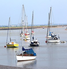 Steering Challenge! (RiverCrouchWalker) Tags: river boats steering calm essex challenge moored sailingboats rivercrouch countyofessex marshfarmcountrypark