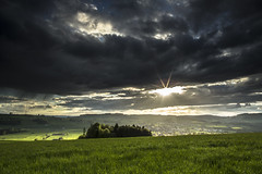 beromnster sunset (christian betschart) Tags: sunset clouds schweiz luzern mai 2013 beromnster