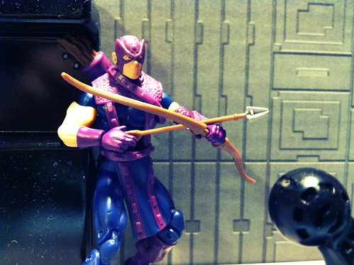 Avengers week continues straight as an arrow with Hawkeye