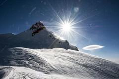 Corno Nero (4321m) (sylweczka) Tags: italy snow ski mountains switzerland tour glacier zermatt monterosa alp skitour signalkuppe zumsteinspitze sylweczka balmenhorn mantovahut