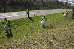 Adopt-A-Highway Clean-up (Michigan National Guard) Tags: earthday adoptahighway battlecreekairnationalguard