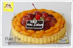 Fruit Pie (Dapur Solia) Tags: orange fruit cherry pie pastry kiwi grape dapursolia