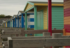 WHISTABLE BEACH HUTS (marc falardeau) Tags: vacation england beach spring nikon colours may huts amateur gayphotographer d300s whstable