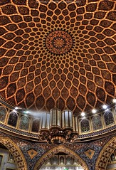 Persian Architecture - Dubai. (Crystal Concept) Tags: light architecture mall persian dubai persia dome pannel ibn battuta