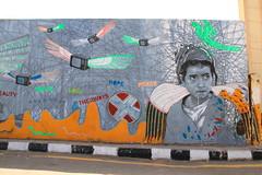 Graffiti, Luxor, Egypt (Andy_Hartley) Tags: urban streetart art painting graffiti mural graf egypt wallart urbanart aerosol luxor graffitiartist spraycan graffitiart sparypaint streatart