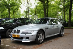 BMW Z3 M Coupe (Dannny32) Tags: auto holland netherlands car grey outdoor parking arnhem engine nederland m bmw motor petrol coupe z3 parkeerplaats grijs gelderland the sportcar benzine papendal 2013 6cilinder