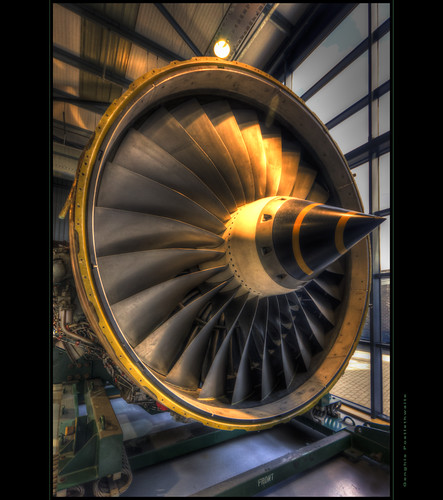 Rolls-Royce Trent engine fan