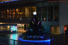 The Winter Festival (96andyko) Tags: christmas new winter light tree london festival night licht nacht year silvester tanne the