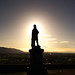 243 - Paul Dumbleton - Robert the Bruce statue at the Castle at sunrise